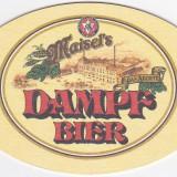 Cartonas de colectie - Suport de pahar / Biscuite DAMPF BIER