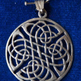 Pandantiv din argint motive arabe - Pandantiv argint