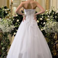 Rochie scurta de mireasa - Vand rochie de mireasa model Calin Events