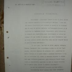 Cercetasii Romaniei - Document ( semnat de Vasile Militaru ) - 1930 - Hartie cu Antet