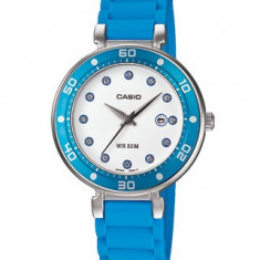 Ceas dama Casio, Casual, Quartz, Inox, Cauciuc, Data - Ceas Casio dama cod LTP-1329-2EVDF - pret vanzare 210 lei; NOU; ORIGINAL; ceasul este livrat in cutie si este insotit de garantie
