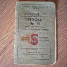 Masina de cusut Singer 1922