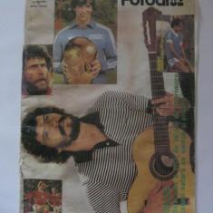 REDUCERE 30 LEI!!! REVISTA FOTBAL 1982