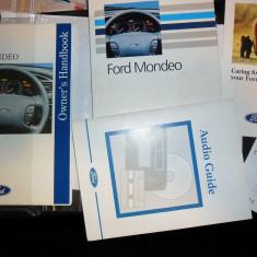 Manual utilizare - carte tehnica auto - ford owners handbook - ford mondeo mk1 generatia I-a - toate motorizariile si caroserii - editia 1993 - Carti auto