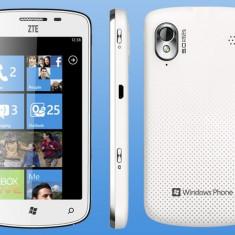 Telefon mobil ZTE, Alb, Neblocat, 512 MB, 4.3'', Smartphone - Zte tania ALB