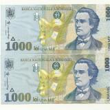 ROMANIA BANCNOTA 1000 LEI 1998 NECIRCULATA