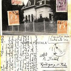Carti Postale Romania dupa 1918, Circulata, Printata - Falticeni ( jud. Suceava )- Banca Nationala-TCV
