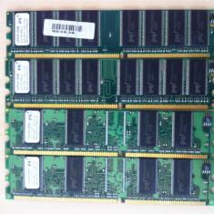 1Gb DDR1 Desktop: 4 x 256Mb PC133 - Memorie RAM, 400 mhz