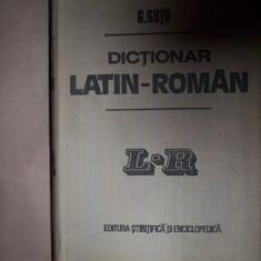Dictionar latin - roman (cel mai mare) -Gh. Gutu Altele