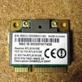 +1498 vand placa de retea weireless Realtek RTL8191SE Wireless LAN 802.11n PCI-E