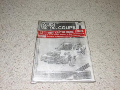 Carte tehnica Haynes Audi 80,90,Coupe foto