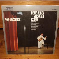 DISC VINIL PERE COCAGNAC - Muzica Religioasa Altele