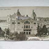 C.P.CLUJ-TEATRUL NATIONAL - Carte Postala Romania 1904-1918, Circulata