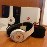 Casti Beats Studio Monster Beats by Dr. Dre - Beats By Dr. Dre Monster Studio White