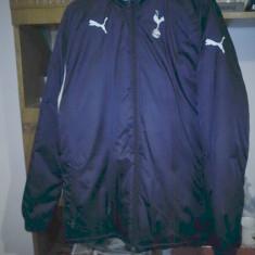 Geaca barbati Puma, S, Bleumarin, Poliester - Geaca Puma Tottenham Hotspur de iarna S