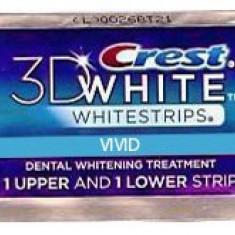 Albirea Dintilor cu Crest Whitestrips Vivid - 1 PLIC