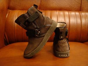 Cizme Baren Schuhe K8K Limited Edition din piele de caprioara marimea 25 foto
