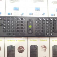 MEASY TASTATURA + AIR MOUSE RC11 WIRELESS PENTRU SMART TV ANDROID TV BOX MINI TV INTRARE MINI HDMI SI USB MK808B GARANTIE 12 LUNI, Mini tastatura, Fara fir