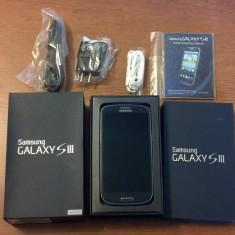 Samsung galaxy s 3 64 gb memorie interna - Telefon mobil Samsung Galaxy S3, Negru, Neblocat, Quad core, 1 GB