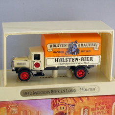 Mercedes Benz L5 1932 - Bere Holsten, Matchbox Yesteryear - Macheta auto