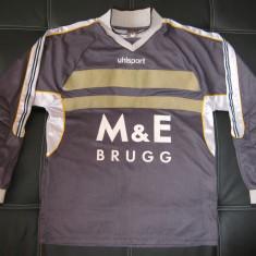 Bluza portar / fotbal UhlSport cu aparatori la coate; marime L, vezi dimensiuni - Echipament portar fotbal