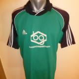 Tricou barbati - Tricou superb Adidas CLIMALITE; marime XL: 59.5 cm bust, 63.5 cm lungime