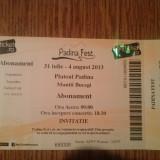 Bilet concert - 2 Abonamente Padina Fest 31 iulie-4 august
