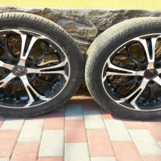 Janta aliaj - Set genti Art cu cauciucuri Pirelli 245/40/17
