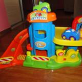 Parcare supraetajata - Masinuta de jucarie, 2-4 ani, Plastic, Baiat