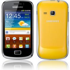 Telefon mobil Samsung Galaxy Mini 2, Portocaliu, Neblocat - Vand schimb samsung galaxi mini 2