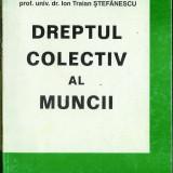 Ion Traian Stefănescu, Dreptul colectiv al muncii