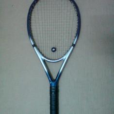 Racheta Crane Micro Carbon - Racheta tenis de camp Wilson, Performanta, Adulti, Grafit/Titanium