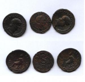 Lot Relplici monede romane:Nero si Alexander Severus foto