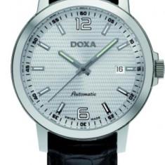Ceas Barbatesc Doxa, Elegant, Mecanic-Automatic, Inox, Piele, Data - Doxa 203.10.023.01