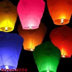 Lampioane zburatoare, lampion de culoare roz, lanternele cerului