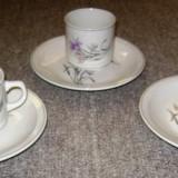 Set / serviciu - ceai / cafea / mic dejun - portelan China - marcat
