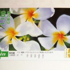 Cartela / Card Japonia - ARTA, FLORA, FLORI -   2+1 gratis toate licitatiile - RBK2387