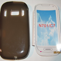 Husa silicon Nokia 701 C7 - Husa Telefon Nokia, Gel TPU
