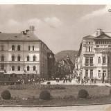 Carti Postale Romania dupa 1918, Necirculata, Fotografie - CPI (B2284) ORASUL STALIN. STR. REPUBLICII, COMBINATUL POLIGRAFIC CASA SCANTEII, SCRISA SI NECIRCULATA1959