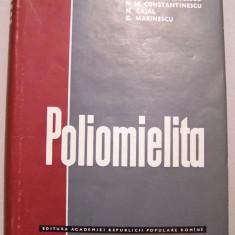 S.NICOLAU - POLIOMIELITA - Carte Boli infectioase