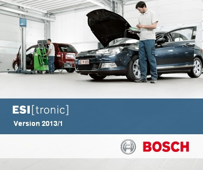 Bosch ESI[tronic] 1Q.2013 (DVD-1 + DVD-2 + DVD-3) foto mare