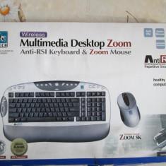Tastatura A4tech Wireless Multimedia