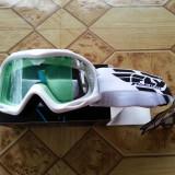 Ochelari Protectie Junior Enduro/Cross/ATV FLY RACING FOCUS ALBI
