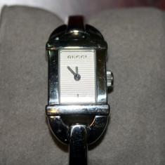 Ceas de dama, original Gucci - Ceas dama Gucci, Elegant, Quartz, Inox, Analog