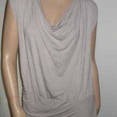 Rochie mini / Maieu tricou gri deschis LA REDOUTE CREATION marimea EUR 42 - 44 L XL, Fara maneca