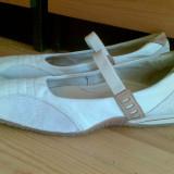Pantofi Hush Puppies marimea 39, sunt din piele interior-exterior! - Balerini dama, Culoare: Bej