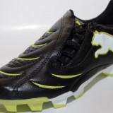 Ghete fotbal gazon Puma, 10192703, ORIGINALE, negru, verde, Marime: 36