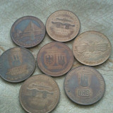 Lot 7 medalii Germania, 200 roni lotul, taxele postale zero roni sau 50 roni bucata + taxele postale, Europa