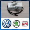 Electrica auto, Volkswagen - Lampi lumini picioare + cablaj + becuri, pt. VW Passat B6, CC, B7, Golf 5, Golf 6, Jetta, Tiguan, Touran, Skoda, Kit complet ( foot light, foot well )