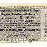 LL bancnota- actiune Germania 100 mark 1928 UNC